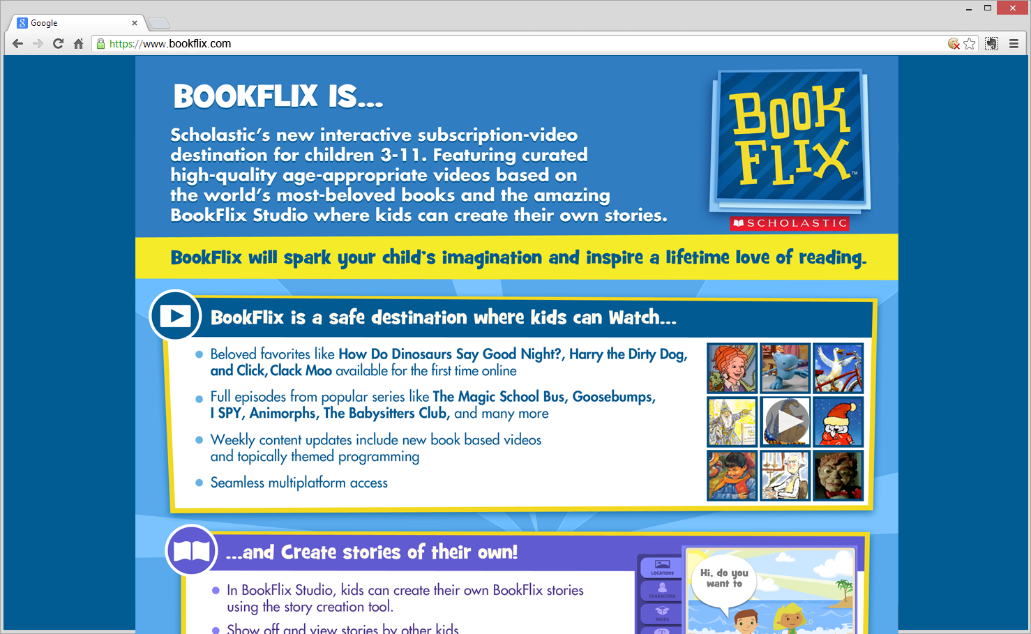 BookFlix - More Info