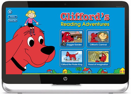 Clifford Reading Adventures Home