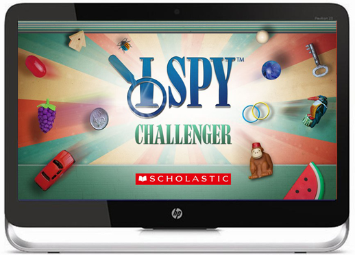 I Spy Challenger Title Screen