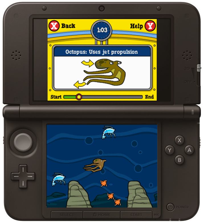 The Magic School Bus Race - Nintendo DS