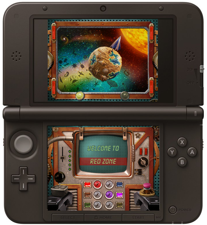 I Spy Universe DS Navigation