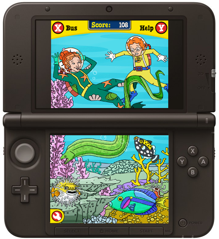 The Magic School Bus Oceans - Nintendo DS