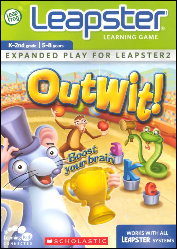Outwit Leapster Game Cover